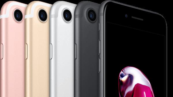 iPhone 7 alle kleuren