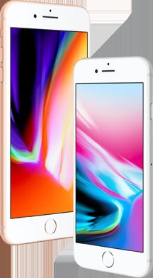 Scherm iPhone 8 vs 8 Plus