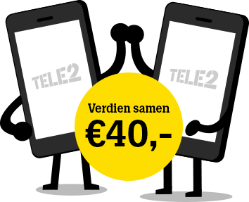 Verdien samen 40 euro