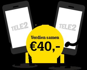 Verdien samen 40 euro mobiel