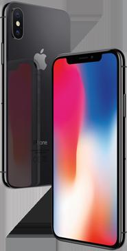 iPhone X zwart zwart