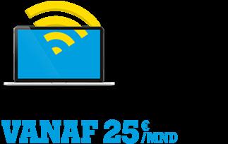 Internet & tv vanaf €25,-