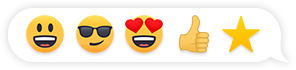Emoji header visual