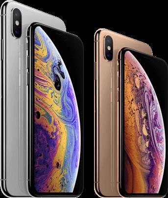 Vergelijk iPhone Xs met iPhone Xs Max