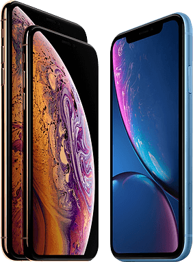 iphone xr, xs en xs max