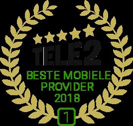 Beste mobiele provider 2018