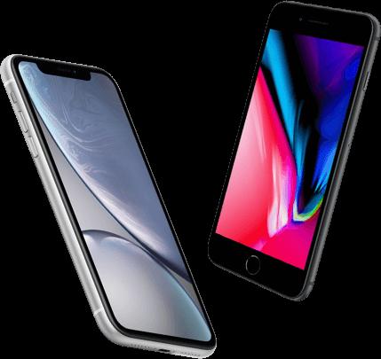 iPhone XR versus iPhone 8 Plus vergelijk