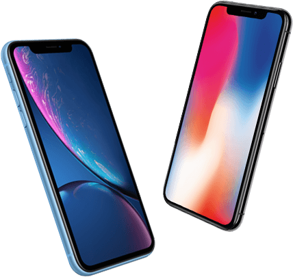 iPhone Xr versus iPhone X