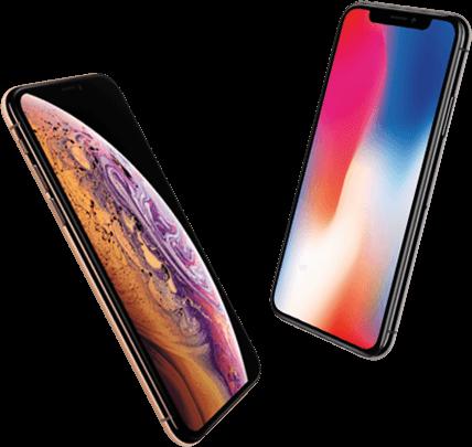 iPhoneXs-iPhoneX-standing