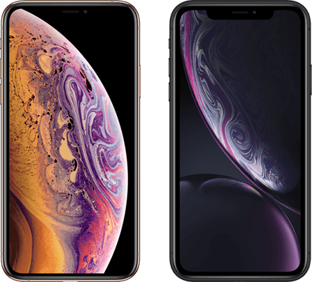 iPhone Xs en iPhone Xr