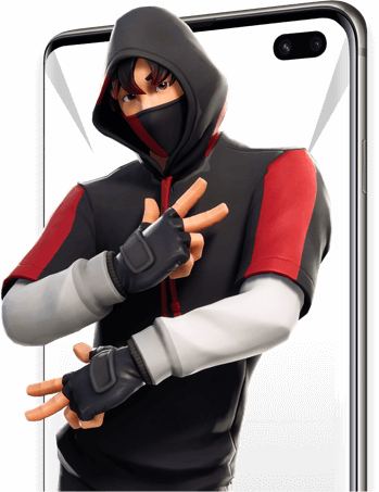 Samsung Galaxy S10 Fortnite image groter vertical