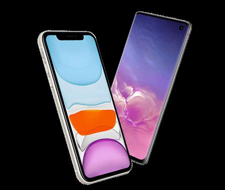 iPhone 11 en Galaxy S10 - /mobiel - 2