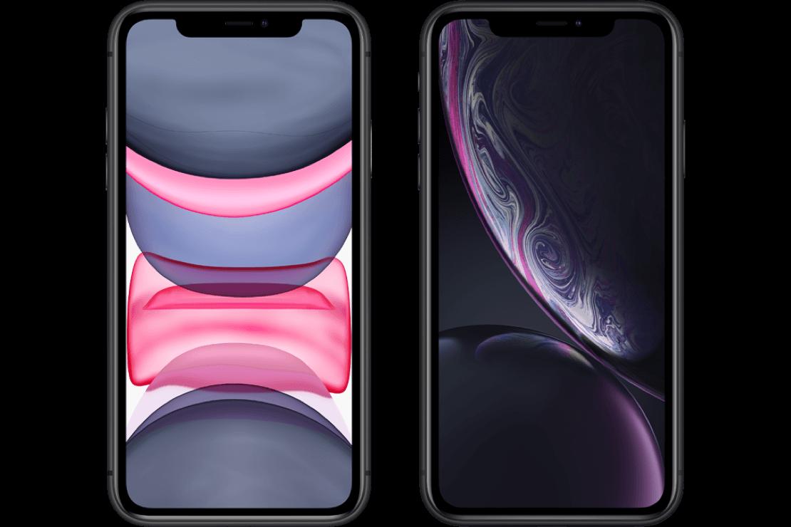 iPhone 11 versus iPhone Xr - hero