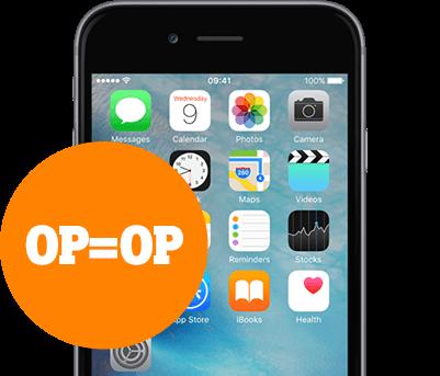 iPhone 6s hero koningsdag mobiel