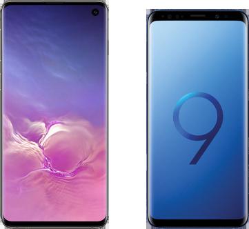 Verschil Samsung Galaxy S10 en Samsung Galaxy S9