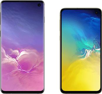 Verschil Samsung Galaxy S10 en Samsung Galaxy S10e