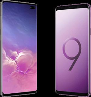 Verschil Samsung Galaxy S10+ en Samsung Galaxy S9+