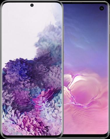 Samsung Galaxy S20 versus Samsung Galaxy S10 beeldscherm hero