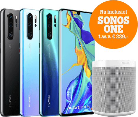 Huawei P30 pro Sonos promo