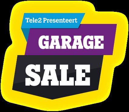Tele2 Presenteert Garage Sale