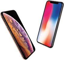 iPhone Xs versus iPhone Xr mobiel