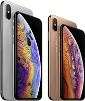 iPhone Xs versus iPhone Xs Max mobiel