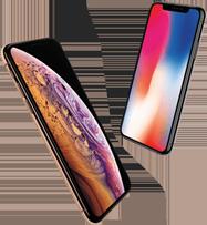 iPhone Xs Max versus iPhone X mobiel