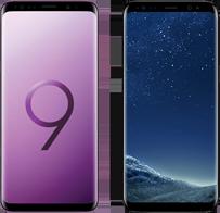 Samsung galaxy s9 versus s8 mobiel hero