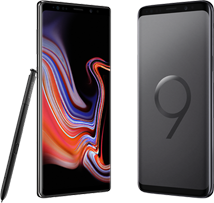 samsung galaxy note 9 versus s9 plus hero mobiel