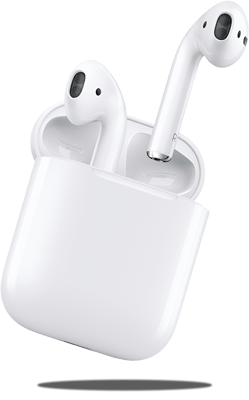Apple airPods hero