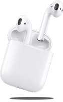 Apple airPods hero mobile