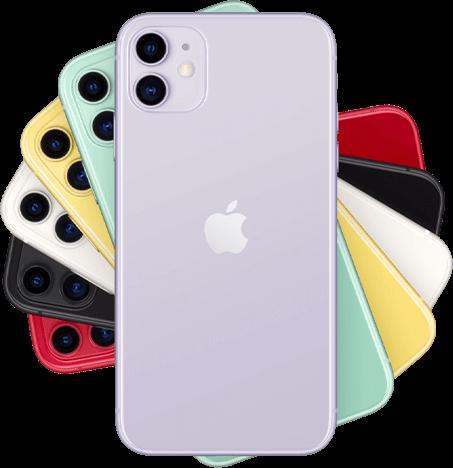 Apple iPhone 11 6 kleuren homepage