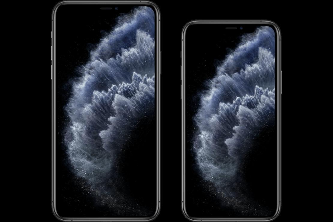 Hero iPhone 11 Pro versus iPhone 11 Pro Max
