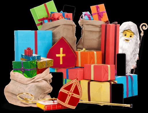 Sinterklaas bij Tele2 goeie deals hero sint homepage